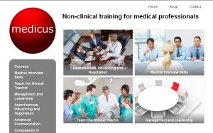 Medicus - Non-clinical training for medical professionals